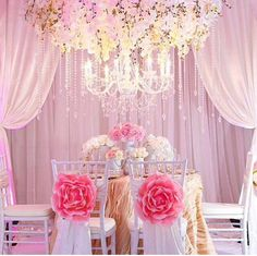 Flowrs chair covers