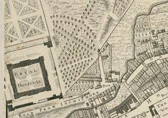 Dublin's old City Basin, & 3 historic hospitals. Arran, Looking Forward To Seeing You, Old City, Walking Tour, Dublin, Basin, Old Photos, Trip Advisor, Maps