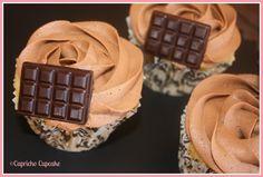 capricho cupcake cupcakes de avellanas y chocolate con frangelico