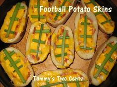 Super Bowl Foods - Could use small potatoes.