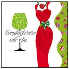 Everything's Better With Wine Cocktail Napkins