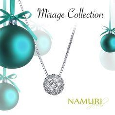 https://itcportale.it  Pendente Mirage Collection Un augurio di un nuovo anno splendente da Namuri Jewels. Scopri tutte le collezioni su ItcPortale.it