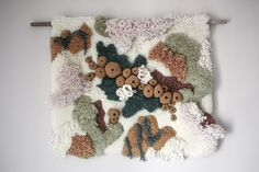 Beautiful rugs and tapestries inspired by coral reefs and tide pools / Boing Boing