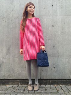 Marimekko Dress Outfits, Cool Outfits, Dresses, Fashion Wear, Womens Fashion, Red And White Dress, Marimekko, Western Outfits, Classy Dress