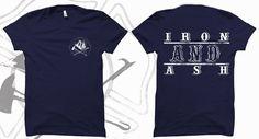 Iron & Ash fireman apparel. www.ironandash.bigcartel.com #fireman #firefighter #fireapparel #firemantee