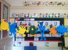 Mr Men Craft activities