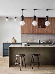 Interior Desing, Home Interior, Kitchen Interior, Interior Livingroom, Interior Ideas, Modern Interior, Kitchen Paint, New Kitchen, Kitchen Ideas