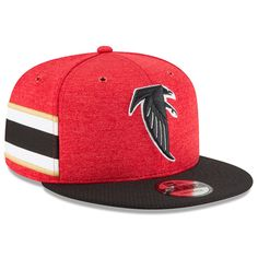 0b26db4137b 2018 Atlanta Falcons New Era 9FIFTY NFL Sideline On Field Home Snapback Hat  Cap