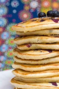 Sugar & Spice by Celeste: Drool-Worthy Blueberry Buttermilk Pancakes