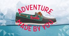 Create your own tools for adventure and roam for the holidays at custom.sperry.com