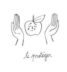 Cocofactory Illustration Design Graphique, Simple Illustration, Funny Illustration, Illustration Sketches, Illustrations And Posters, Graphic Illustration, Mediums Of Art, Grunge Art, Time Tattoos