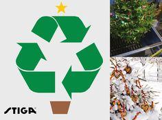 Heb je een echte kerstboom? Geef de boom een definitief plekje in de tuin en hang er wat mezenbollen, fruit en ander vogelvoer in. Geen plaats voor een boom? Verhaksel de boom en composteer of strooi het verhakselde materiaal in uw tuin. Vergeet niet om eerst de versiering weg te halen :-)