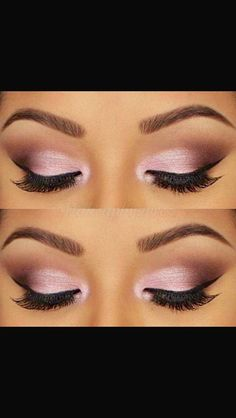 Pink champagne eye makeup (Great for Valentines day)
