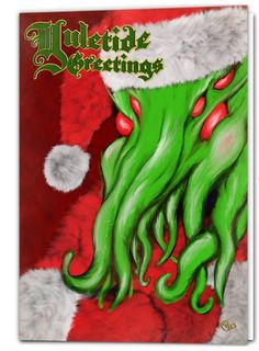 Some people like to combine traditional Christmas decorations and customs with their enjoyment of H.P. Lovecraft's dreaded elder god Cthulhu. A Cthulhu Christmas | Mental Floss