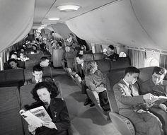 Boeing 377 Stratocruiser Seating