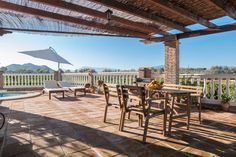 Villa in Alhaurín el Grande, Spain. Rural 3-bedroom house with fireplace, orange…