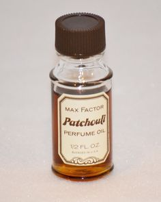 Max Factor Patchouli perfume oil
