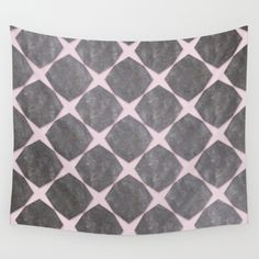 Pink Under Black Marbel Tiles - $39