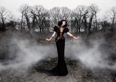 A touch of Graveyard Glamour! #Halloween #Fashion @WishWantWear