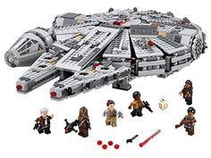 3 X LEGO Star Wars Millennium Falcon 75105 Building Kit …