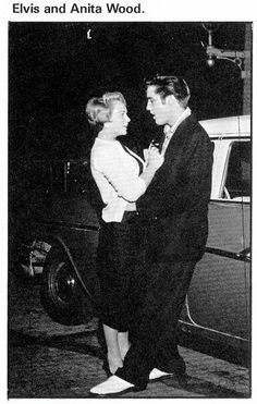 Elvis wirh Anita Wood