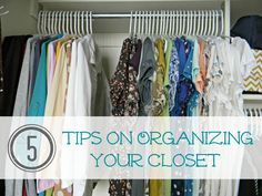 5 Tips on Organizing Your Closet and Keeping It That Way Teleconference - Organize and Decorate Everything