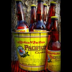 Pacifico Clara Beer Ice Bucket. HulaHangout.com