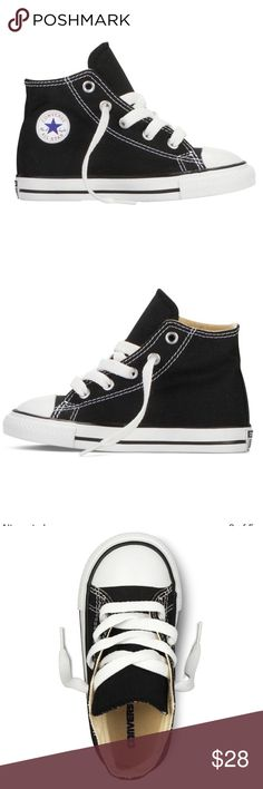 🚨FLASH SALE🚨Converse Chuck Taylor High-Tops 🎊Just in time for back to school! Grab this deal now before I sell out! New with box! Converse Shoes Sneakers