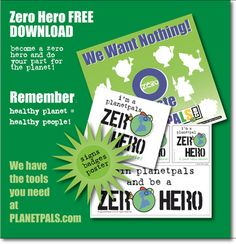 Learn fun facts Zero Waste from Planetpals Learn how to conserve and use less. Healthy planet, healthy people, Be a Planetpal Learning Objectives, Fun Learning, Tool Poster, Classroom Posters, School Lessons, Earth Science, Educational Activities, Cool Websites, Zero Waste