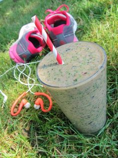The Ultimate Post-Workout Recovery Smoothie for Runners :: Ingredients:      1 frozen banana     1/2 cup frozen chopped spinach     1/2 cup blueberries (fresh or frozen)     1.5 cups almond or coconut milk     2 tbsp almond butter     2 tsp honey     1/2 tsp cinnamon