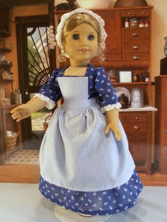 'Mother's Helper' 1700s dress with fichu and apron by drommer0   eBay