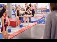 Advanced Leap and Jump Drills tumbl track