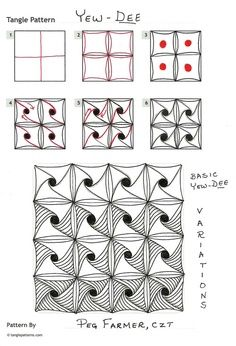 Doodle/Tangle How to do