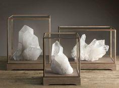 Камни и кристаллы в интерьере