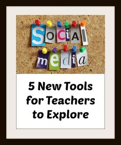 5 Social Media Sites Educators Should Explore: Some different tools then we have talked about aimed more at education groups. Teaching Technology, Teaching Tools, Educational Technology, Technology Tools, Social Media Etiquette, Elementary Art Rooms, We Are Teachers, Teaching Secondary, Information Literacy