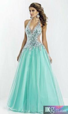 blue dress blue prom dress