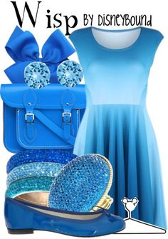Wisp from the Disney Pixar Movie Brave, By Disneybound Disney Character Outfits, Disney Themed Outfits, Disney Inspired Fashion, Character Inspired Outfits, Disney Bound Outfits, Disney Dresses, Disney Fashion, Disney Clothes, Cute Disney