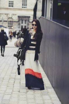 that maxi skirt.