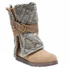 Women's Muk Luks Nikki Boots - Taupe (Brown)