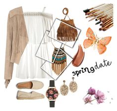 """""""#2 spring looks"""" by meertjelief ❤ liked on Polyvore featuring Glamorous, Leslie Danzis and Olivia Burton"""