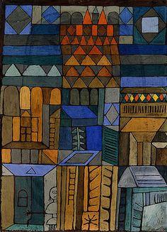 Paul Klee: Beginnende Kühle. 1937