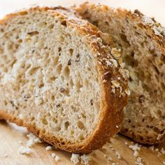 Homemade bread that is packed full of healthy ingredients made in a bread machine. Easy to make, and delicious! Use for sandwiches, or serve sliced.