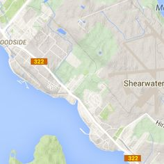 Shearwater Flyer near Halifax, NS - a hiking trail