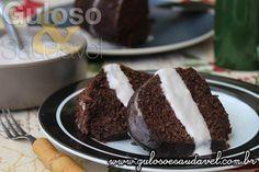 Receita de Bolo Integral de Chocolate Diet