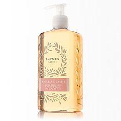 Thymes Fig Leaf & Cassis Bath & Shower Gel