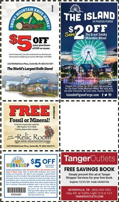 Discount Coupons for the Smoky Mountains - Pigeon Forge Discounts - Gatlinburg Discount Coupons Gatlinburg Tennessee Attractions, Gatlinburg Coupons, Gatlinburg Vacation, Tennessee Vacation, Gatlinburg Tn, Pigeon Forge Tennessee, Alaska Travel, Alaska Cruise, Mountain Vacations