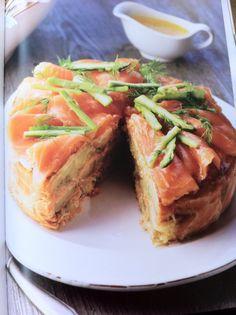 Salmon pudding