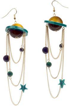 Saturn Orbit Earrings, £95: http://www.tattydevine.com/shop/by-product/collections/aw13/saturn-orbit-earrings.html
