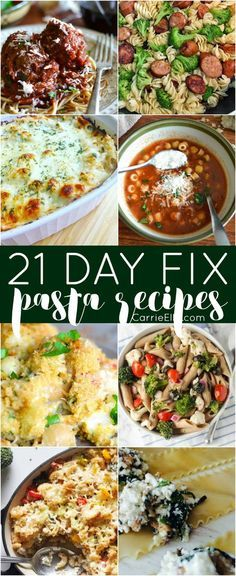 Clean Eating Diet, Clean Eating Recipes, Healthy Eating, 21 Day Fix Diet, 21 Day Fix Meal Plan, Pastas Recipes, Dinner Recipes, Salad Recipes, Healthy Pastas