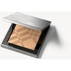 Burberry Nude Powder – Ochre Nude No.12 ($50) ❤ liked on Polyvore featuring beauty products, makeup, face makeup, face powder and burberry